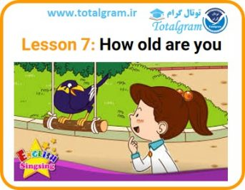 Lesson 7: How old are you
